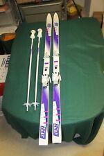 Women's Elan 733K Skis & Poles - 185 cm - Tyrolia Bindings,made with Kevlar