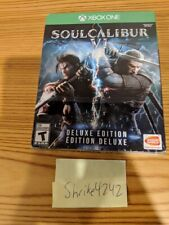 Soul Calibur VI Deluxe Edition Xbox One - New/Sealed w/No Sounds - Free Shipping