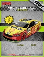 Joey Logano #22 Shell-Pennzoil 2018 CHAMPION 1:24 scale ELITE Action PRE-ORDER