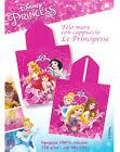 Poncho Mare Spiaggia Telo Principesse Accappatoio Rosa Fuxia Spugna Disney