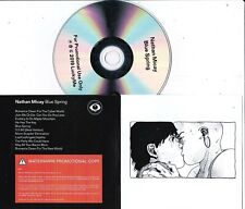 NATHAN MICAY BLUE SPRING RARE PROMO CD