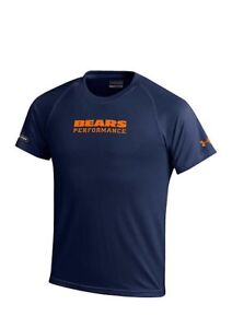 NWT Youth Under Armour Chicago Bears NFL Woodmark navy T youth size S, L $28