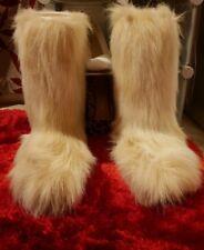 Oscar Sport -Fur Ski Women Boots CAPRA BIANCO