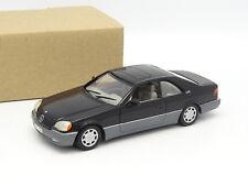 Minichamps SB 1/43 - Mercedes 600 SEC Noire