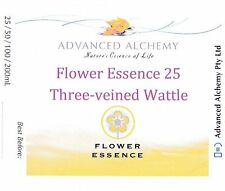 Flower Essence #25 Self-esteem - Advanced Alchemy 25ml Three-veined Wattle
