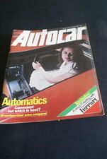 June Autocar Cars, 1970s Magazines in English