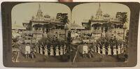 Indie Tempio Da La Religion Da Jain Calcutta Foto Stereo P49p1n Vintage Citrato
