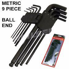 Neilsen Ball Hex Key Set Allen Keys 9 Piece Metric 1.5mm - 10mm Car   0615
