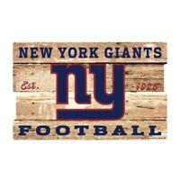 New York Giants XXL Holzschild 76 cm ! !,NFL Football,Plank Wood Sign