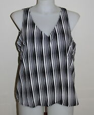 Womens Size 18-20 Black & White Blouse Made by Target