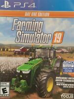 Farming Simulator 19 Day One Edition PS4 PlayStation 4 Brand New Sealed