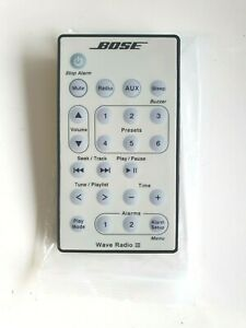 GENUINE BOSE WAVE RADIO III REMOTE CONTROL