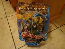 2008 ZIZZLE--PIRATES OF THE CARIBBEAN--SWASHBUCKLERS SAO FENG FIGURE (NEW)