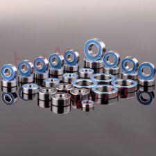 33PCS Metric Blue Rubber Sealed RC Traxxas E Revo Racing Ball Bearing KIT