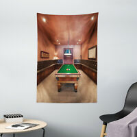 Modern Tapestry Pool Table Billiard Print Wall Hanging Decor