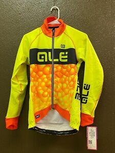 Alé Cycling PRR Bubbles Winter Jacket - Fluo Yellow/Orange - Women's Small