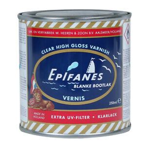 Epifanes Clear Varnish 250/500/1000ml dutch high gloss premium varnish