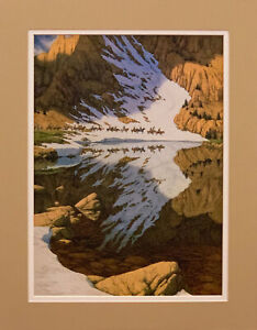 Bev Doolittle Season of the Eagle Matted Print fits an 11x14 ready made frame