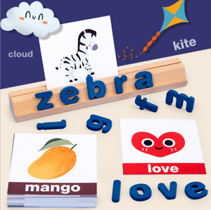 SLF Educational English Alphabet Letters Spelling & Recognition Colorful Toy Set