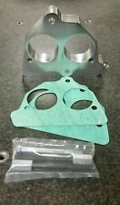 """Khaos Motorsports Smooth Big Bore 2"""" Throttle Body Spacer 87-95 Chevy GMC 7.4L"""