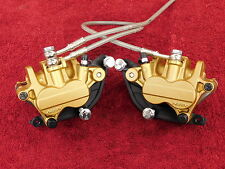 L&R FRONT BRAKE CALIPERS *MINT! 07-12 Triumph 675 STREET TRIPLE <> CALIPER set