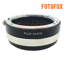 Fuji AX Fujica old X mount lens to Micro M 4/3 adapter GH4 G6 GF6 E-P5 PL7 OM-D