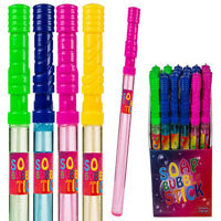 Large 37cm Bubble Wand Sword Stick Summer Soapy Fun Kids Garden Party Toy