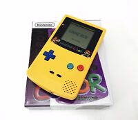 Nintendo GameBoy Color - Refurbished Colour Game Boy Handheld GBC Yellow Mario