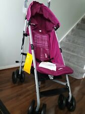 Joie Nitro Stroller - Magenta Baby Pushchair with Raincover