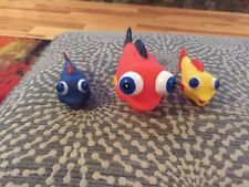 Nemo Rubber Bathtub Toys Lot Of 3 Variety Of Color And Sizes