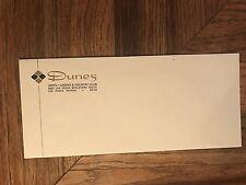 Dunes Hotel Casino Vintage Unused Original Envelope Las Vegas Nevada