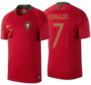 NIKE CRISTIANO RONALDO PORTUGAL HOME JERSEY FIFA WORLD CUP 2018