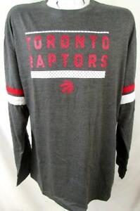 Toronto Raptors Big Mens 2XL - 6XL XLT 3XT Long Sleeve Screened Team Tee TRP 14