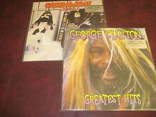 GEORGE CLINTON HITS + PARLIAMENT CLONE 180 GRAM 2LP UK PRESSED OUT OF PRINT SET