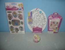 New Disney Cinderella Princesses Bubble Stickers Press on Nails Color Ornament