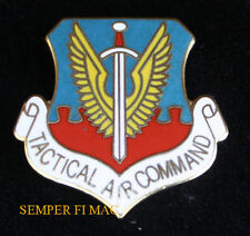 TACTICAL AIR COMMAND BADGE PIN US AIR FORCE TIE TAC AFB WING GROUP SQUADRON WOW