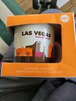DUNKIN DONUTS Las Vegas RUNS ON DUNKIN 14 OUNCE COFFEE MUG 2012