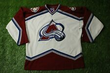 COLORADO AVALANCHE USA RARE ICE HOCKEY SHIRT JERSEY STARTER ORIGINAL SIZE L