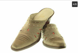 Cole Haan Southwestern Mules 9