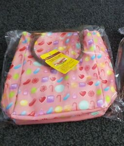 Brand New Candy Sweets Oil Cloth Thermal Lunch Bag