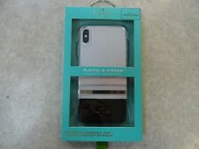 BRAND NEW Kate Spade Hardshell Case for iPhone XS MAX - Charlotte Stripe Black