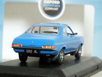 "1:43 Oxford ""VAUXHALL Firenza 2300 SPORT SL"" (Bluebird) COUPE Opel 18 Viva RARE!"