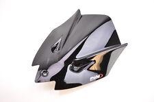 11-14 Aprilia Tuono V4R Puig Z Racing Windscreen, Black  5647N