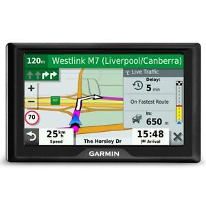 "GARMIN DRIVE 52 LIVE TRAFFIC 5"" GPS NAVIGATION WITH TRAFFIC ALERT AUSTRALIAN MAP"