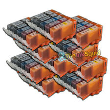50 Ink Cartridges For Canon Pixma PGI525 CLI526 iP4800 P4820 iP4850 iP4920