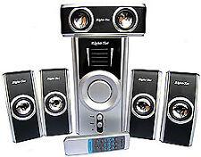 Right-Tec 5.1 Speaker Set RTS8500 (Silver/Black)