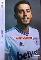 West Ham United v Liverpool 2019/20 Premier League Programme Free  UK Post