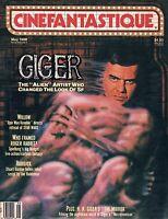 Cinefantastique May 1988 H.R. Giger Alien Willow Robojox Who Framed Roger Rabbit