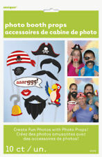 10 Pirate Photo Booth Props-Décoration Anniversaire Photo Photo