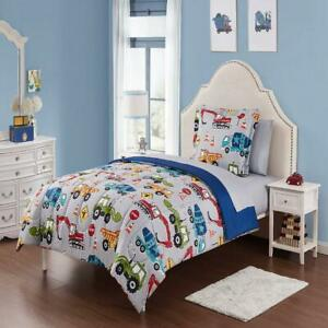 Bed in a Bag Little Boys Kids Character Bedding Set Sheet Set 5-Pieces Twin/XL
